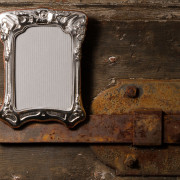 5022 cornice portafoto liberty in argento